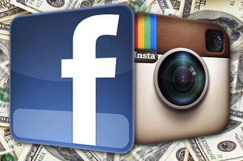 Instagramfacebook foto cellulare