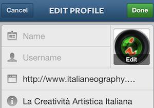 Scegliere un Username su Instagram