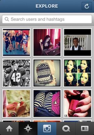 Pagina delle foto popolari