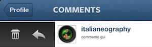 Menzionare un Utente su Instagram