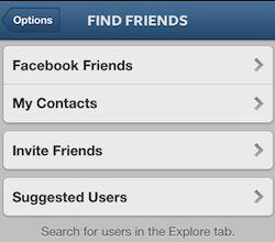Trovare Amici su Instagram