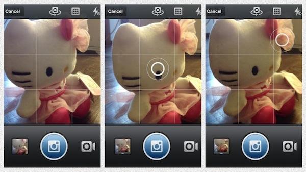 Scattare una Foto su Instagram