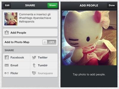 Postare una Foto su Instagram