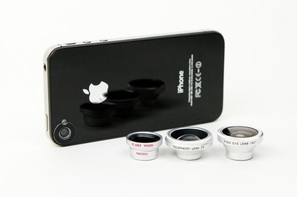 foto cellulare lenti smartphone teleobiettivo grandangolo macro