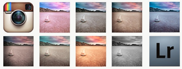 foto filtri instagram per lightroom