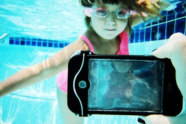 cover per proteggere l'iPhone dall'acqua