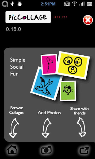 foto collage composizioni per android e iphone e ipad