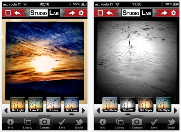 fotografia italiana studiolab app per iphone instagram