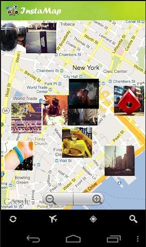 instamap per vedere foto su mappe per android