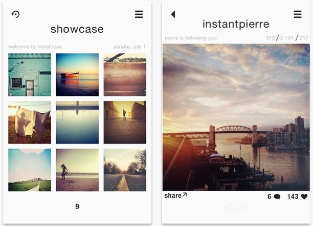 instafocus per fotografia qualità su iphone e ipad