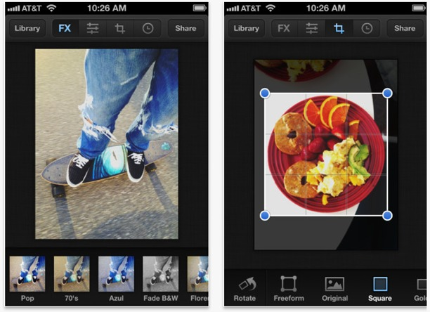 app per fotografia luminance per iphone ed ipad