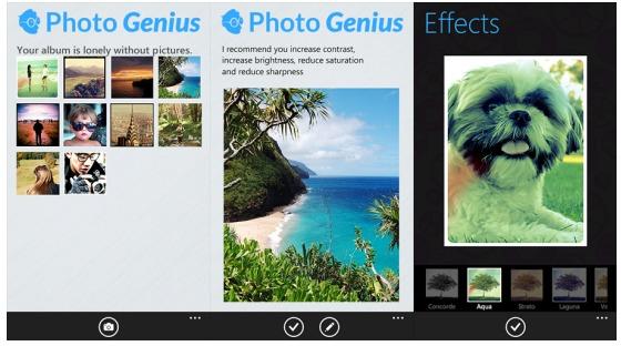 aviary photo genius per cellulari windows phone
