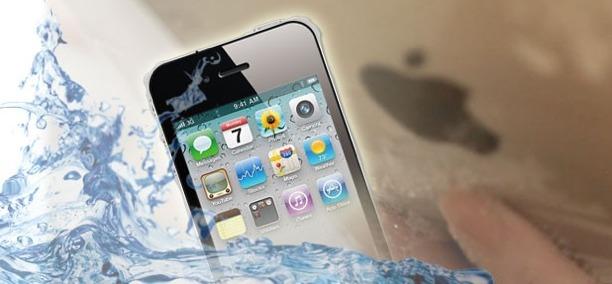 protegge smartphone dall'acqua con phonedome