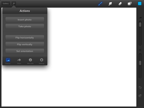 Procreate per iPad4