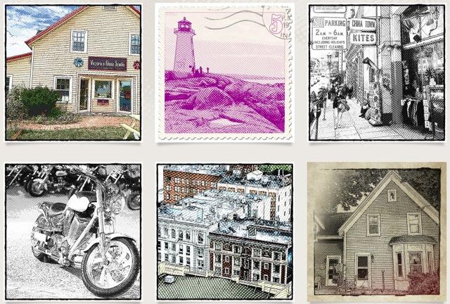 app per fotografia incisione etchings per iphone