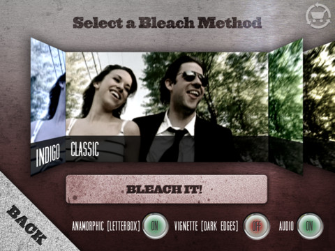 video editing filtri cinebleach iphone e ipad