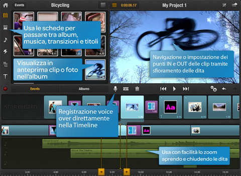 pinnacle studio video editing per ipad