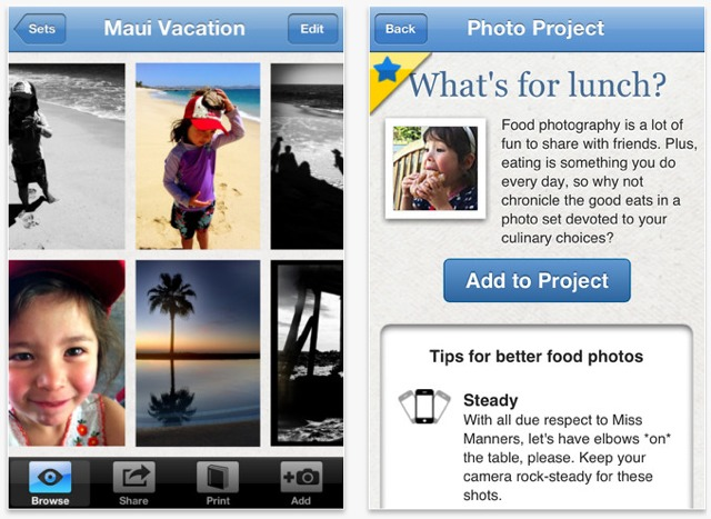 stampa album fotografici su iphone con keepsy