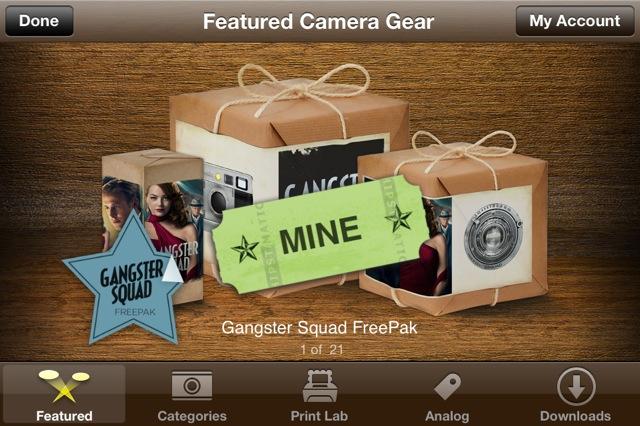 Gangster squad hipstamatic freepak