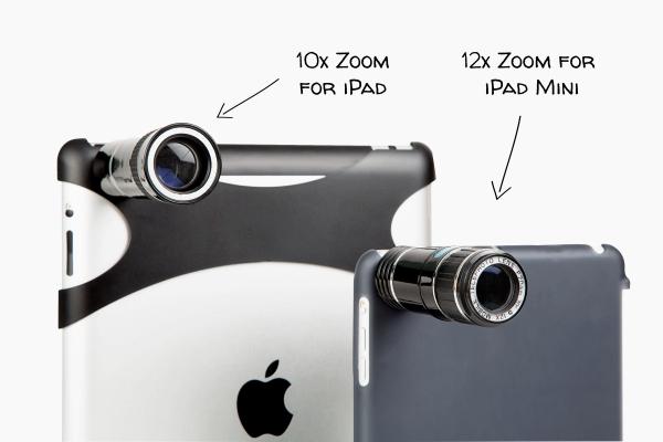 Lente telephoto per iPad