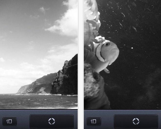 Vint B W MII iPhone iPad