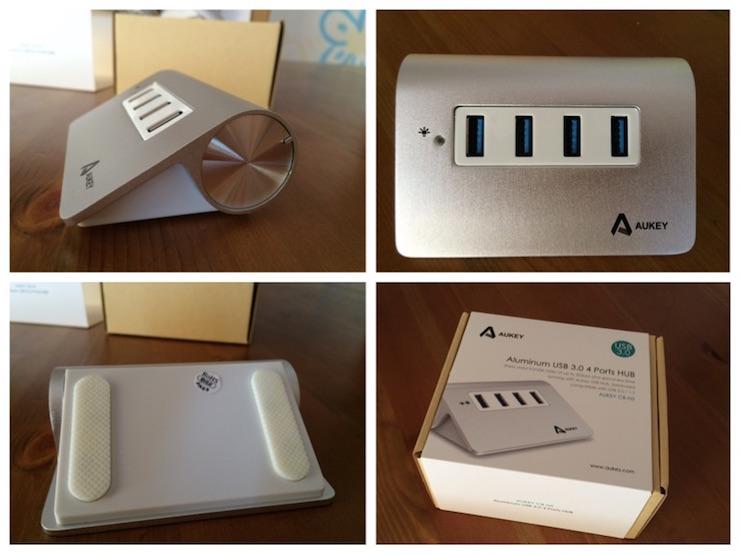 Aukey hub USB SuperSpeed 4 porte