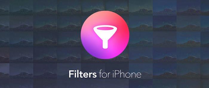 Filters per iphone