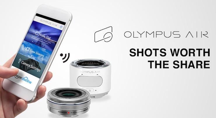 Olympus AIR A01 fotocamere per smartphone
