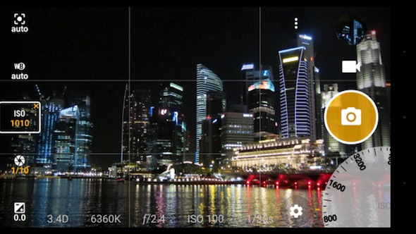AZ Camera foto Android raw