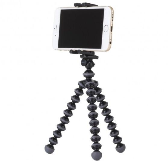 cavalletto gorilla pod per iphone e smartphone