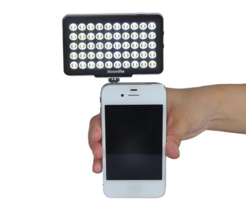 luce led mudder camera light
