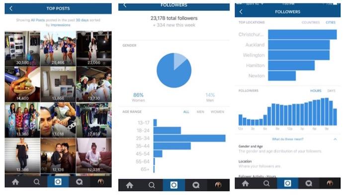 statistiche instagram ufficiali