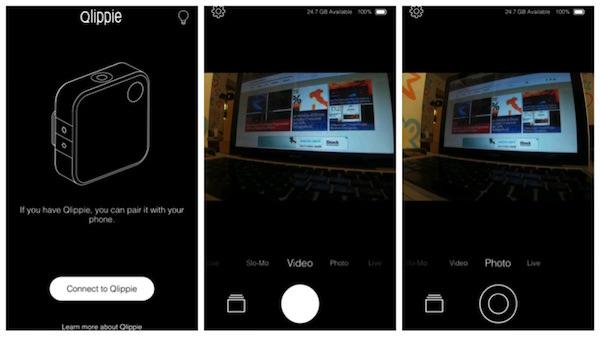 connessione qlippie app