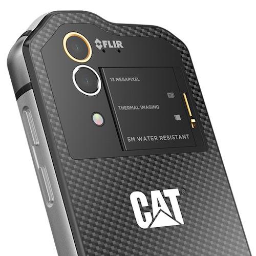telefono fotocamera termica cat s60