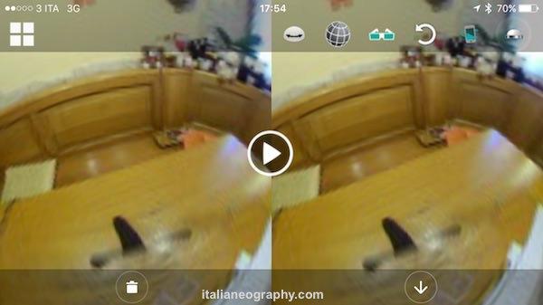 come funziona video elecam 360
