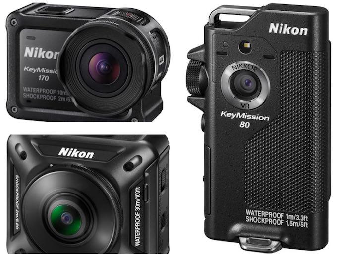 3 Action Camera Nikon KeyMission. Inizio di una Nuova Battaglia