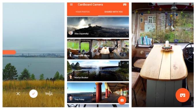 Come Creare una Foto VR con Google Cardboard Camera iPhone