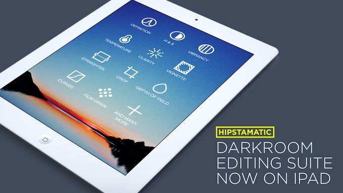 Nuova Versione. Ora puoi Usare Hipstamatic anche su iPad