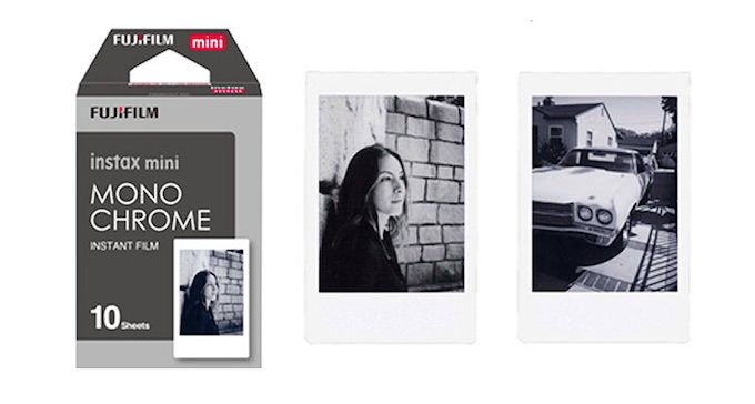 Fujifilm Lancia il Nuovo Instax Mini Film Monocromatico