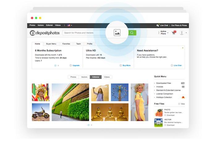 Depositphotos Lancia un Nuovo Sistema di Riconoscimento Immagine