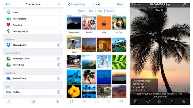 app photo manager pro 5 iphone ipad