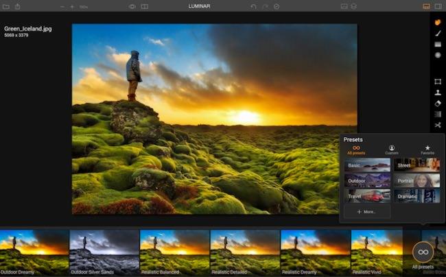 editor fotografico luminar mac