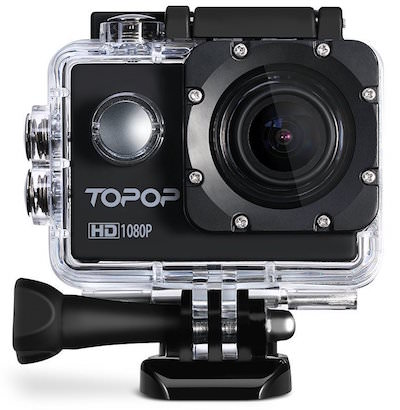 sconti amazon black friday action cam topop 12mp