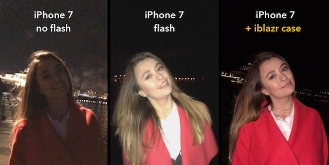 caratteristiche flash iblazr case iphone