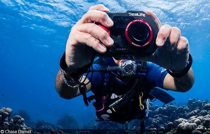 Nuova Fotocamera SeaLife DC2000 subacquea 20Mp 1080p HD