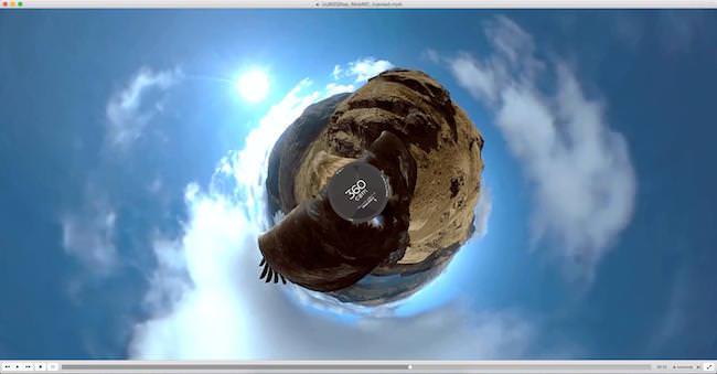 vlc 360 gradi per Mac