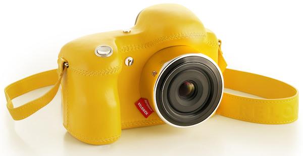 fotocamera relonch gialla