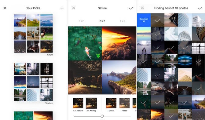 picky iphone editor intelligente foto