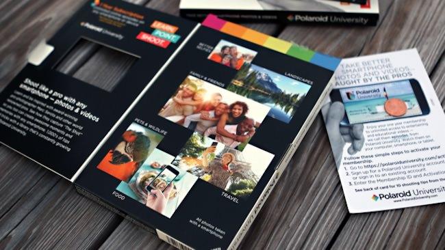 polaroid university video fotografia smartphone