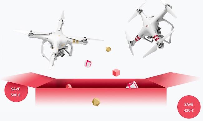 sconto droni dji natale 2016
